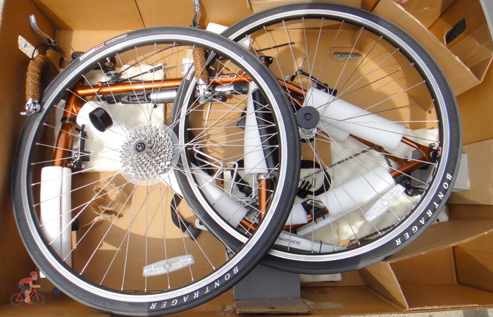 Подготовка велосипеда к авиаперелёту