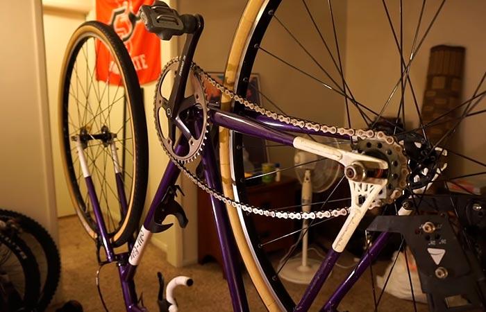 перевернутый велосипед